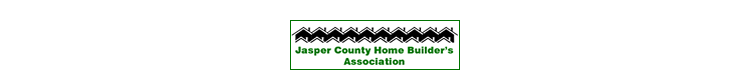 Jasper County Home Builders Association logo